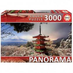 EDUCA  3000 mont fuji et pagod