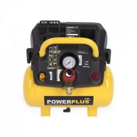 POWERPLUS Compresseur - 6 L - 8 bar - 1,5HP - 1100