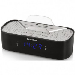 AUDIOSONIC CL-1463 Radio Réveil Bluetooth - Port de chargeme