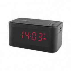 INOVALLEY RV17BTHN Radio Réveil Bluetooth - Noir
