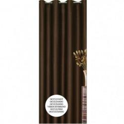 Rideau occultant chocolat 140x260cm