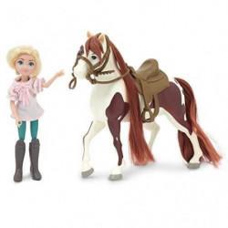 SPIRIT Figurine Cheval 18 cm et Poupée 12 cm - Abigaelle & B