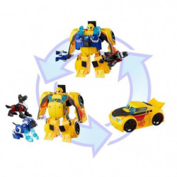 TRANSFORMERS Rescue Bot - BUMBLEBEE Secouriste Electonique-
