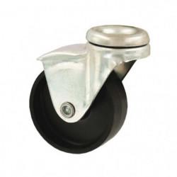 Roulette a oeil - Ø 43 mm - Noir