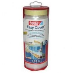 TESA Ruban de masquage + Easy Cover Premium XL, (bâche + rub