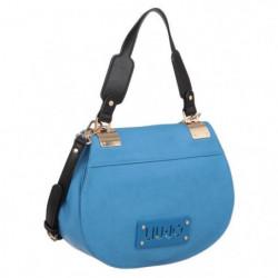 LIU-JO Sac d'épaule A16141E0037 Bleu Femme