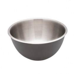 FRANDIS Saladier ø 24 cm Soft touch - Gris foncé mat