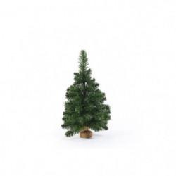 Sapin de Noël artificiel en PVC et ciment - 60 cm - 97 branc