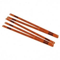 STANLEY Jeu 5 lames de scie a métaux