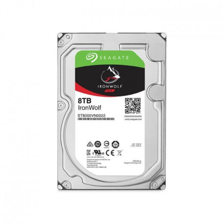 """SEAGATE NAS HDD Iron Wolf 8To - 3,5"""" - ST8000VN002"""