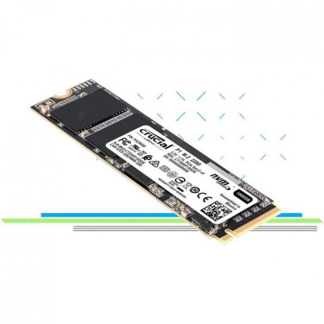 CRUCIAL SSD P1 1000Go - 3D Nand Nvme - PCIe M.2