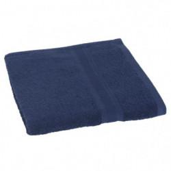 JULES CLARYSSE Drap de douche 70x140cm Élégance - Bleu Marin