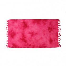 SOLEIL D OCRE Fouta de bain Tie and Dye - 100% coton - 80x15