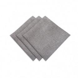 SUCRE D'OCRE Lot de 3 serviettes de table BELLA 45x45 cm - G