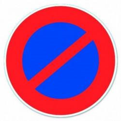 Disque de signalisation Stationnement interdit - PVC adhésif