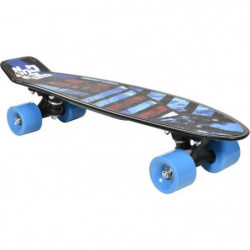"FREEGUN Skateboard Vintage 22,5"" Design Surf - Enfant mixte"