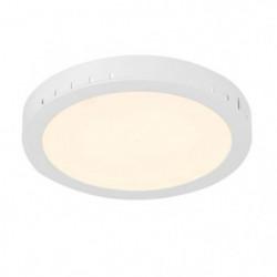 Spot encastrable LED en Plastique 3,8x30x30 cm Blanc