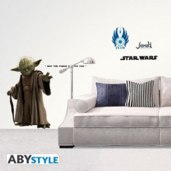 Stickers Star Wars - échelle 1 - YODA (blister) - ABYstyle