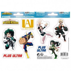 Stickers My Hero Academia - 16x11cm  / 2 planches - UA High