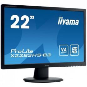 "IIYAMA Ecran Prolite X2283HS-B3 22"" FHD"