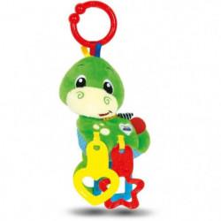 CLEMENTONI Baby - Hochet peluche Dino