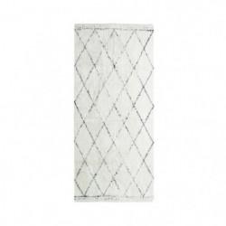 COTTON BERBERE Tapis de couloir - 70 x 110 cm - 100 % coton
