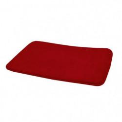 FRANDIS Tapis de bain - Antidérapant - 40x60cm - Rouge