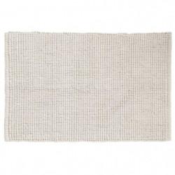 GIPSY Tapis de bain - Polyester microfibre - 40x60 cm - Crem