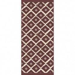 WARRI Tapis 100% vinyle - 49,5 x 115 cm - Epaisseur 1,5 mm -