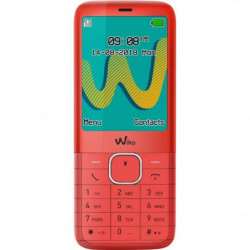 WIKO Riff3 Plus LS cherry Rouge