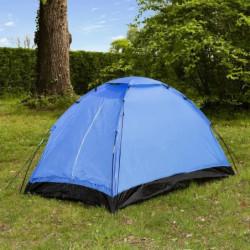 Tente de camping Dôme - 2 places - Bleu