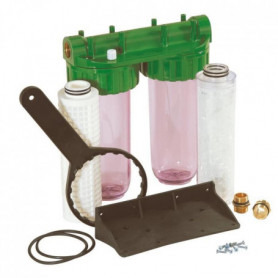 DIPRA Station de filtration Vital anticalc Duplex