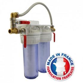 AQUAWATER Station de filtration anti-tartre Bypass