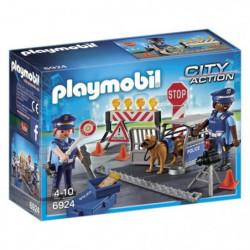 PLAYMOBIL 6924 - City Action - Barrage de Police
