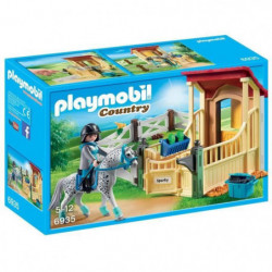 PLAYMOBIL 6935 - Country - Box avec Cavaliere et Cheval Appa