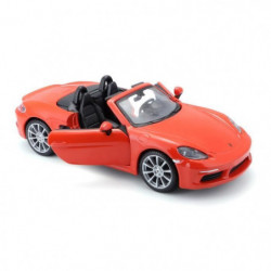 BBURAGO Voiture Porsche 718 Boxter 1/24eme - Orange