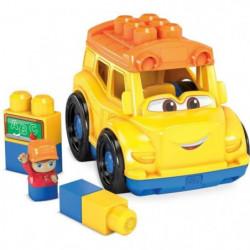 MEGA BLOKS - Lil'Véhicule Bus Scolaire - Briques de construc
