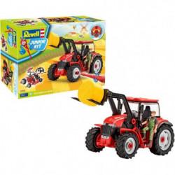 Junior Kit Tracteur avec godet et figurine 00815