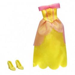 DISNEY PRINCESSES - Robe et Chaussures JAUNE - Vetement pour