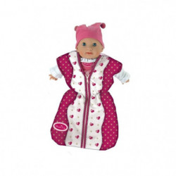 PRINCESS CORALIE - Gigoteuse en tissu pour poupée