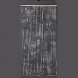 Rideau flocons Blanc en polyfoam 90x180 cm
