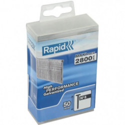 RAPID 2800 pointe n°8 Rapid Agraf 50mm
