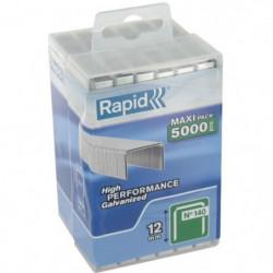 RAPID 5000 agrafes n°140 Rapid Agraf 12mm