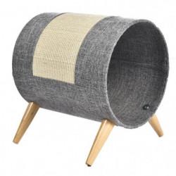 BUBIMEX Griffoir cylindre - 41 x 35 x 44 cm - Pour chat