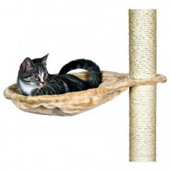 TRIXIE Nid XL pour arbre a chat ø 45 cm beige peluche