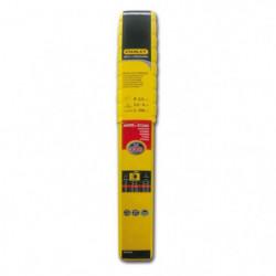 STANLEY 460925  Lot de 110 électrodes rutiles acier - Ø 2,5 mm