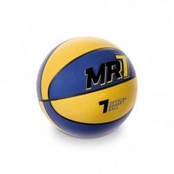 MONDO Ballon de Basket MR7 Jaune et Bleu