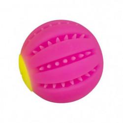 DUVO Led Flash balle - 10 cm - Fuchsia - Pour chien