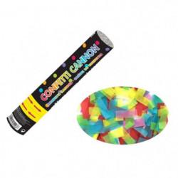 AMSCAN Canon a confettis  -24 cm - En papier Multicolore