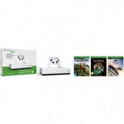 Xbox One S All Digital 1 To + 3 Jeux dématérialisés